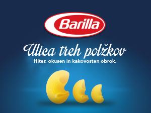 Barilla – Ulica treh polžkov