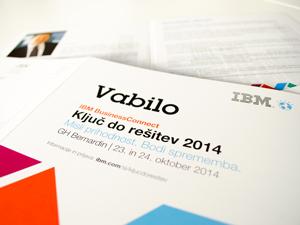 IBM – Ključ do rešitev 2014
